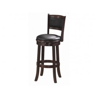 Backed Barstool - Seat Height 30 - Cappuccino