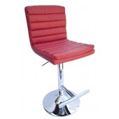 Lyon Bar Stool-Burgundy
