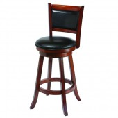 Backed Barstool - Seat Height 30 - Chestnut